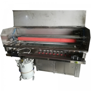 Full y automatic hydro dip equipment with continuous film flowing system