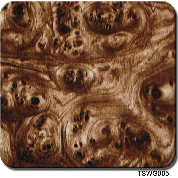 Walnut wood hydro dipping film