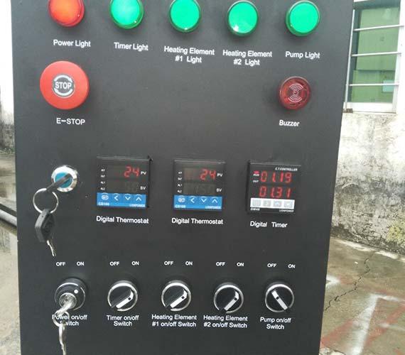 water transfer printing dipping tank with washing gun