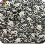 TSKC9061(1M) Skull Camo dip patterns