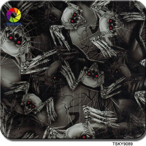TSKY9089 Skull Hydro Printing