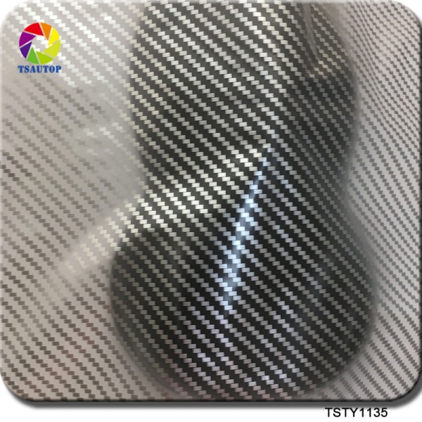 TSTY1135 Carbon Fiber Hydro Print