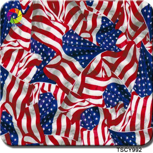 TSCY992 Flag Hydrographic Film