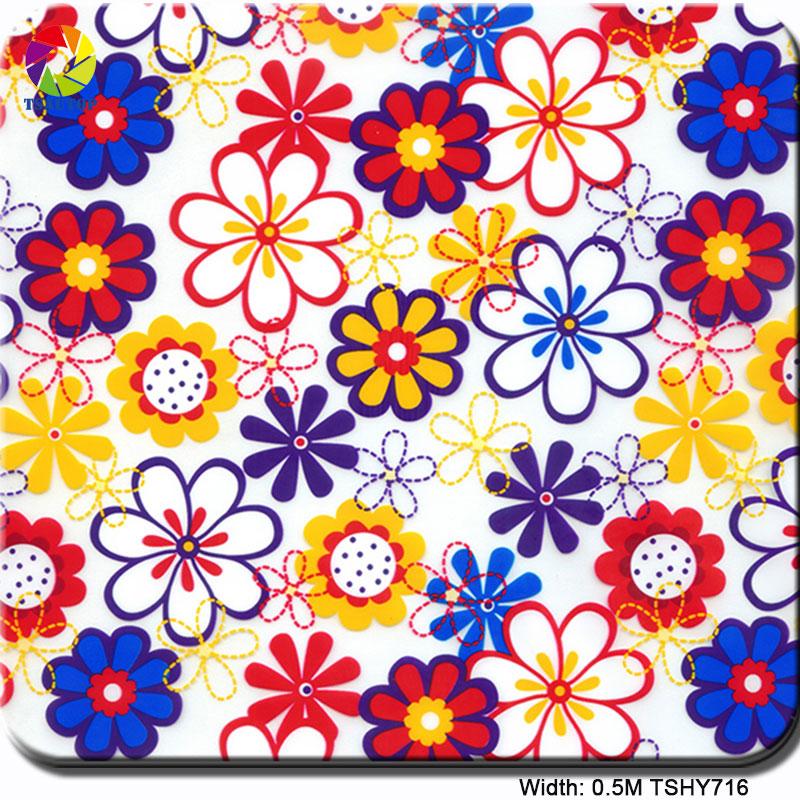 TSHY716(0.5M) Flower Hydro Dip Designs