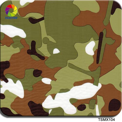 TSMX104M Military Camo Water Transfer Printing Film