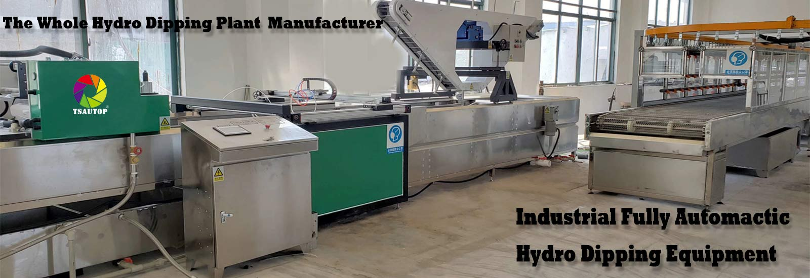 hydro dipping machine banner
