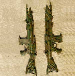 camo hydro dipping toy guns