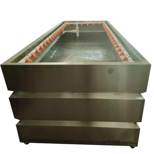 open rinsing tank