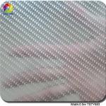 Silver chrome Carbon Fiber