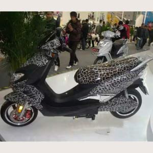 hydro dipped electric motorcycle