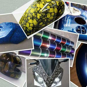 hydro dipping motorcycle parts