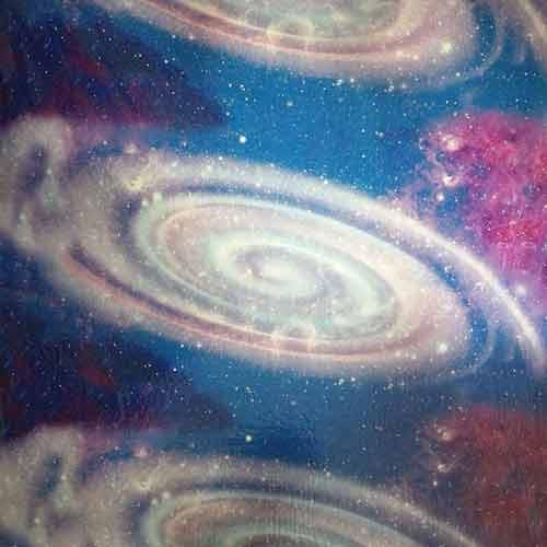 196 Galaxy Hydrographic Film