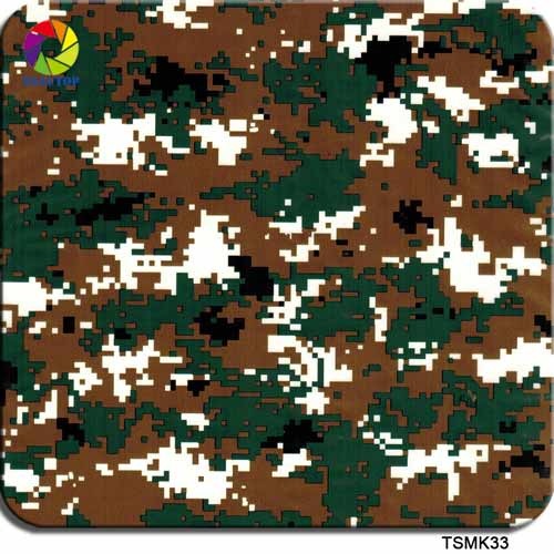 Abstract camo Hydrographic Film TSMK33