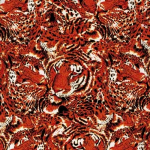 Tiger Animal Hydrographic Film TSCW1081