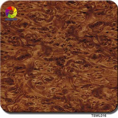 wood grain hydrographic film TSWL016