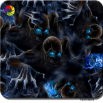 TSKR9010(1M) Skull Hydro Dip Film