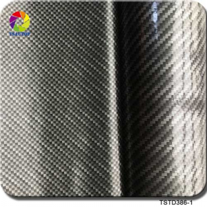 carbon fiber hydrographic dip film TSTD386-1