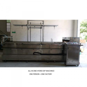 fully autoamtic hydrographic machine