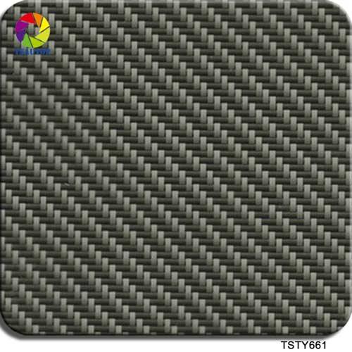 green carbon fiber hydro dip film TSTY661