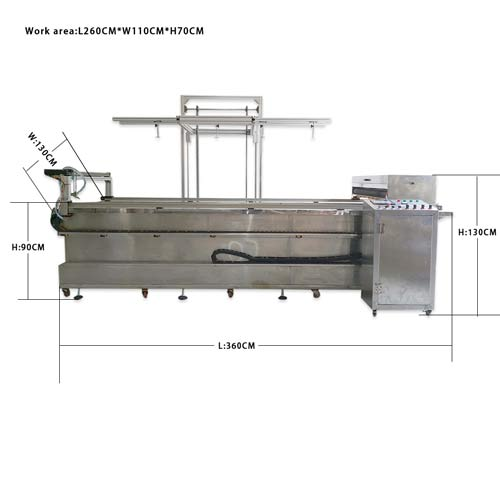 Fully automatic hydro dip tank