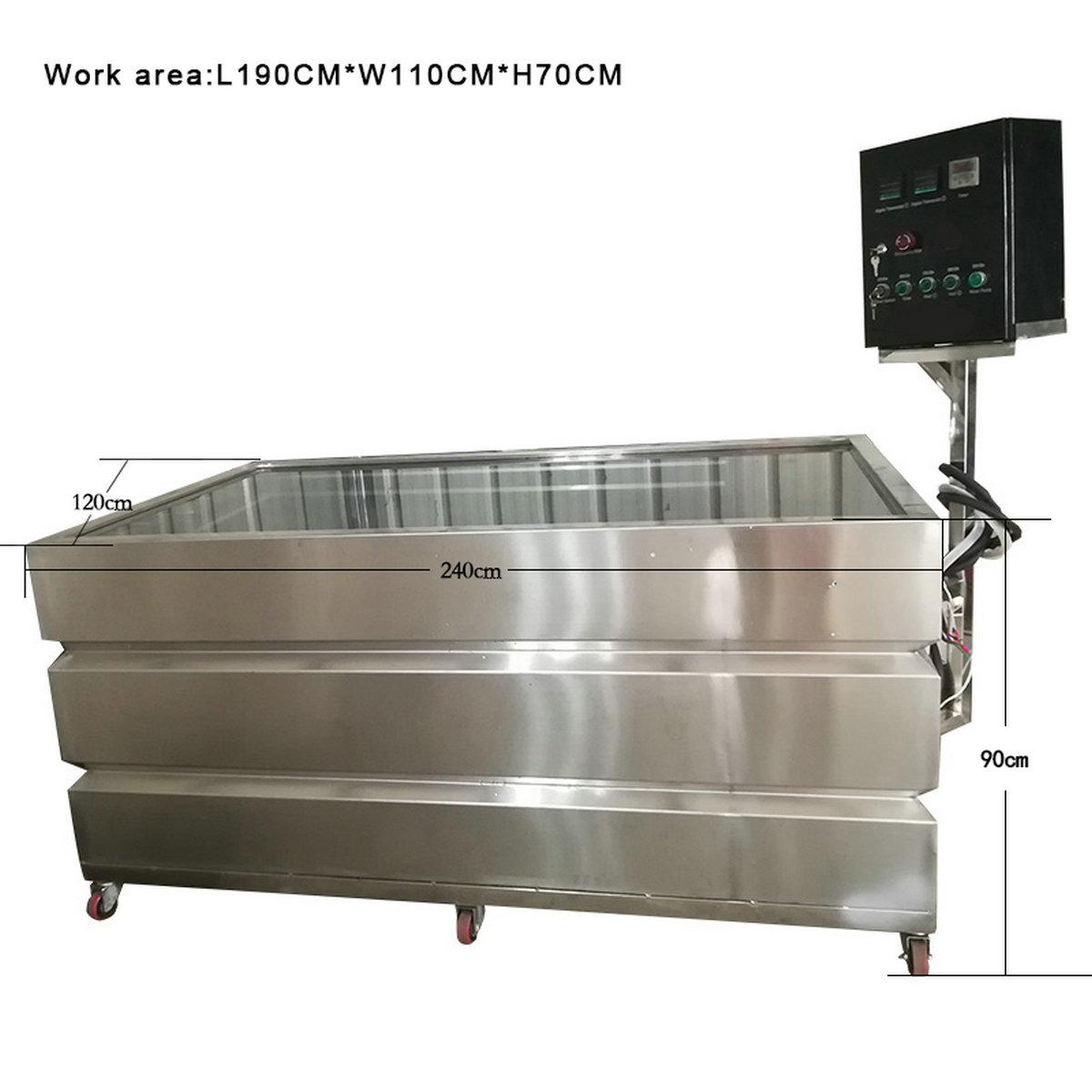 2.4m standard hydro dip tank