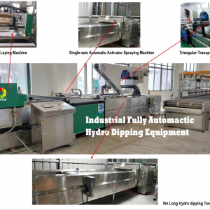 Fully-Automatic Triangular-transport Hydro Dipping Equipment