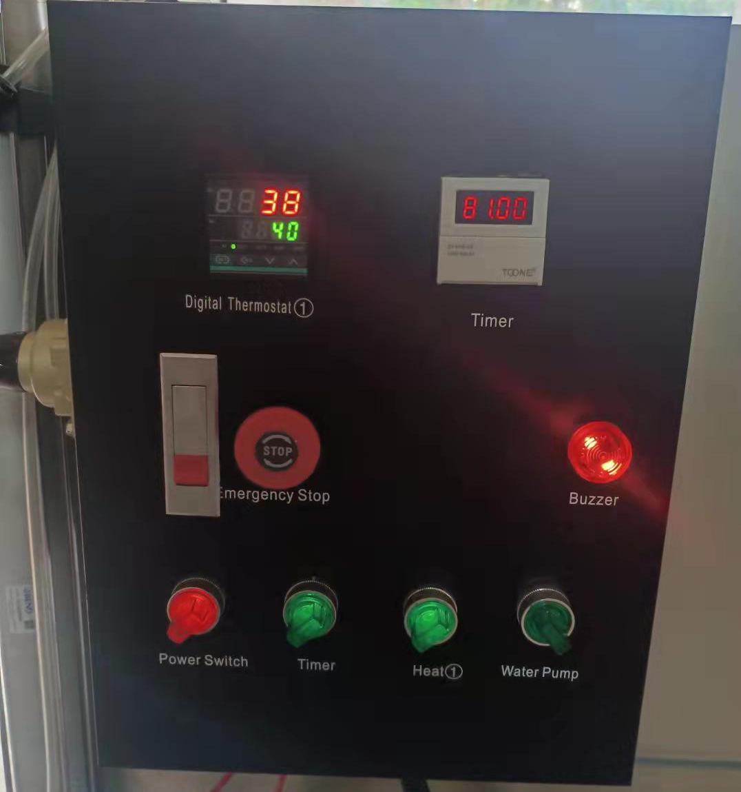hydro dipping wash station control box