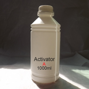 A activator fro blank water transfer printing